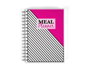 Meal Planner Notebook - Inventory
