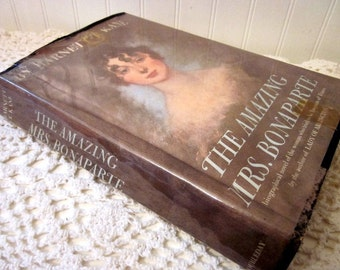 vintage book, The Amazing Mrs. Bonaparte by Harnett T. Kane, a 1963 First Edition HC DJ. A Biography of Napoleon's sister-in-law. FREE Ship