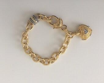 Delicate, Stunning, Gold Bracelet, Gorgeous Lady's Bracelet.