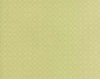 Pepper and Flax - Floral Wire in Sprig Green: sku 29047-17 cotton quilting fabric by Corey Yoder for Moda Fabrics