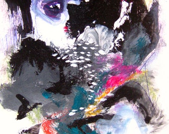 abstract figure art by sjkim, figurative painting, figure painting, face painting, landscape and figure art