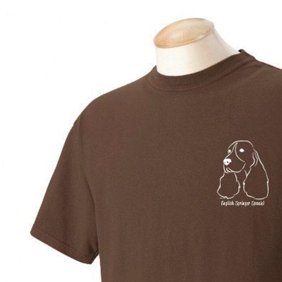 English Springer Spaniel Garment Dyed Cotton T-shirt yAu3IcEug
