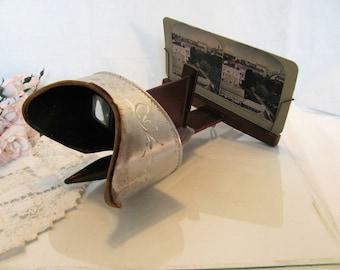 Antique Stereoscope By Underwood & Underwood