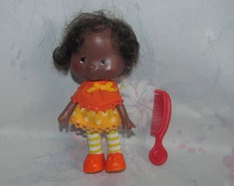Vintage American Greetings/Kenner Strawberry Shortcake - Orange Blossom Doll with Comb