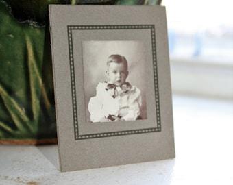 Antique Photograph Cabinet Card 1800s Victorian Boy