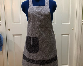 Retro or vintage its a full apron-ElliesAlley aprons-gifts for mom-bridal shower-hostess-teacher-great for cooking or crafting or gardening