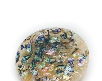 Eco-Resin coaster, Orgone Charging Plate Disk, Resin, Orgonite®