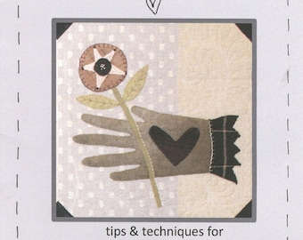 Wool Applique Beginner's Guide by Heart to Hand