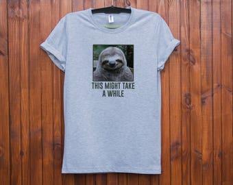 Sloth shirt / Sloth t shirt / Sloth tshirt / Sloth t-shirt