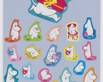 Moomin Stickers - Reference A3541A3693-94