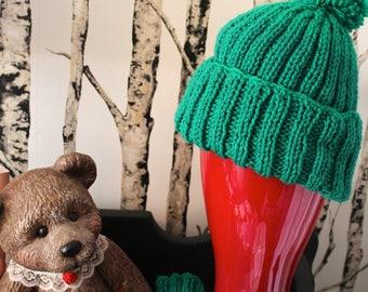 Pom-Pom Hats for Kids