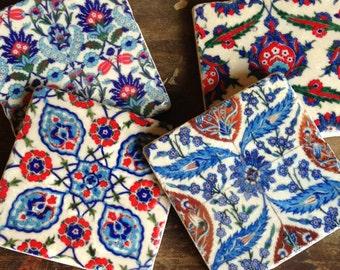 Turkish design stone coasters
