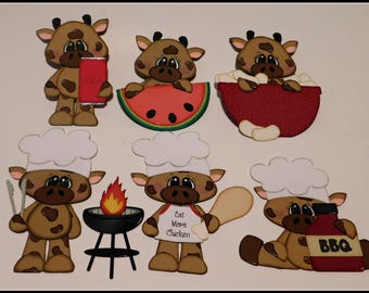 BBQ Beef Paper Piecing Set