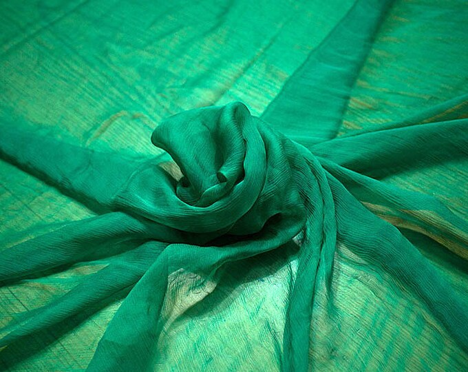 326079-Chiffon Natural silk 100%, width 127/130 cm, made in Italy, dry cleaning, weight 29 gr