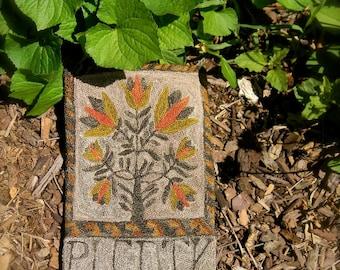 PLENTY - PAPER Punch Needle Pattern from Notforgotten Farm
