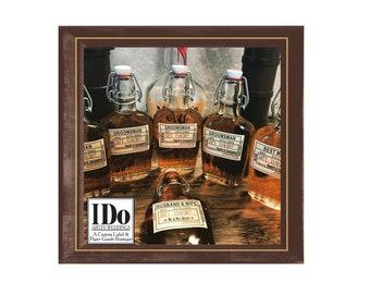 Groomsmen Gift Idea, Personalized Groomsmen Gift, Gift for Men, Personalized Groomsmen Flask Labels, Custom Groomsmen Flask - Just the Label