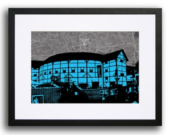 The Globe Theatre, London - Cyan