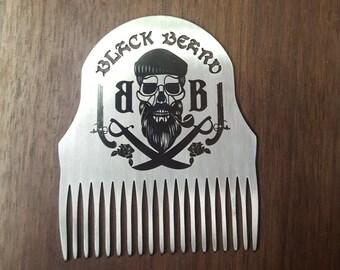 SS Beard Comb by Black Beard