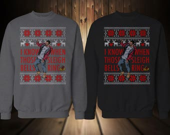Hot_Line Bling Christmas\Xmas Sweater Crewneck