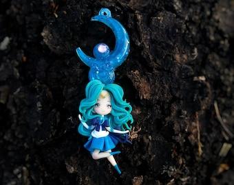 Sailor Neptune on a resin base