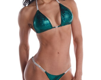Emerald Icon - Green Competition Bikini  (NPC, WBFF, OPA)