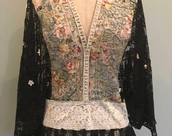 30s Lace tunic