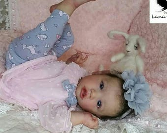 Free Shipping. Custom Made for you. Saskia by Bonnie Brown ...Professional Doll Artist Lana Totten German Glass eyes.