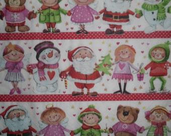035 medley of Christmas napkin