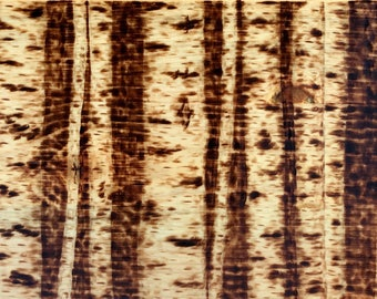 Birch Forest Wood Burning (mid-sized)