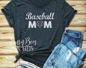 Baseball Mom Tee. Distressed Baseball Mom. Grunge Baseball Mom. Baseball Mom Shirt. Baseball mom. Baseball Life. Mom Life. Game Day Shirt.