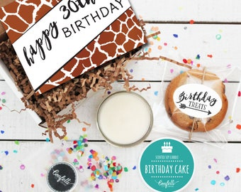 Mini Happy 30th Birthday Gift Box - Milestone Birthday | Send a Birthday Gift | Friend Gift | Coworker Gift | 30th Birthday Card