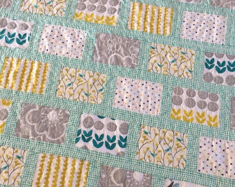 Quilts, handmade quilts, wedding gift, unique gifts, modern quilt, patchwork quilt, hand quilted, lap quilt, baby quilt, handmade gift