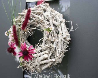 "Door wreath ""elegant autumn"""