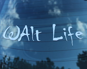 Disney Inspired Car Decal, Disney Car Window Decal, Salt Life Sticker, Funny Bumper Stickers, Disney Back Window Decal