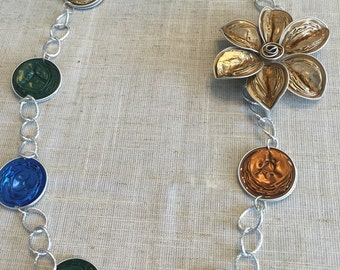 An Elegant nespresso flower  chain necklace 4