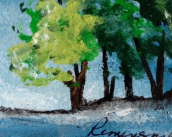 Just Twilight - ACEO - Original - FREE SHIPPING