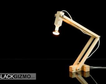 Wooden Desk Lamp DL016