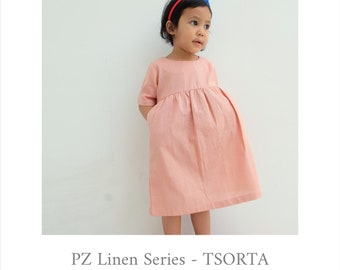 Greta Dress in Soft Pink
