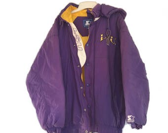Vintage LSU Jacket - Puffy - Tigers - Size L
