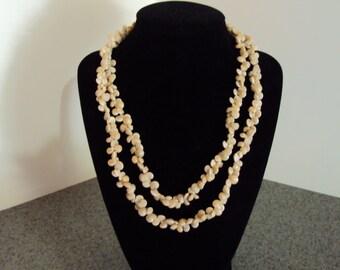 Vintage Tiny Shell Necklace