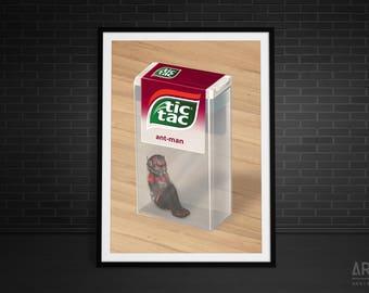 Tic Tac Antman Print