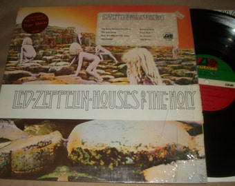 "Led Zeppelin ""Houses of the Holy"" Atlantic Records 1973 (Sterling Sound RL) First Pressing **Original Shrinkwrap** Hype Stickers! Mega-Rare!"