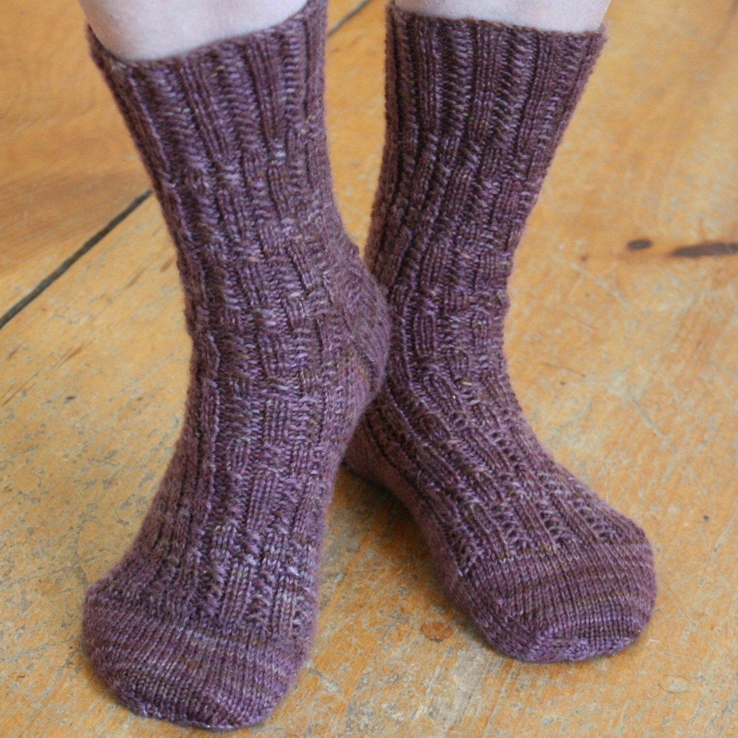 Sock Knitting Pattern, PDF, Knit Sock Pattern, Knitted Socks Pattern ...