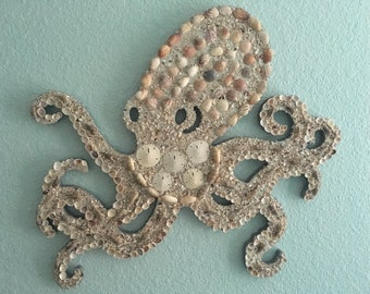 Octopus Decorated With Shells From Florida
