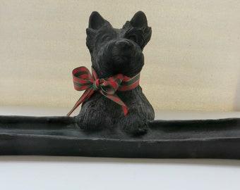Vintage Scottie Dog Dresser Valet for Keys and Coins