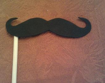 Mustache on a Stick Party Favor (set of 20)