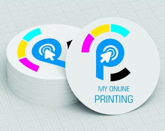 1000 CIRCLE BUSINESS CARDS 4/4