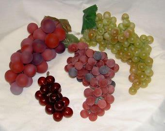 Vintage Fruit - Grape Clusters