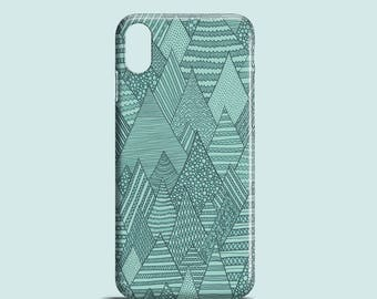 Forest mobile phone case, iPhone X, iPhone 8, iPhone 7, iPhone 7 Plus, iPhone SE, iPhone 6S, iPhone 6, iPhone 5/5S, green iPhone 7 case