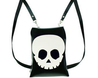 Latex Skull Mini Backpack